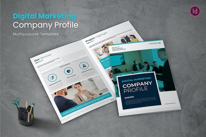 Thumbnail for Digital Marketing Company Profile