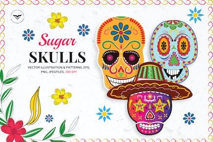 Sugar Skulls Graphics