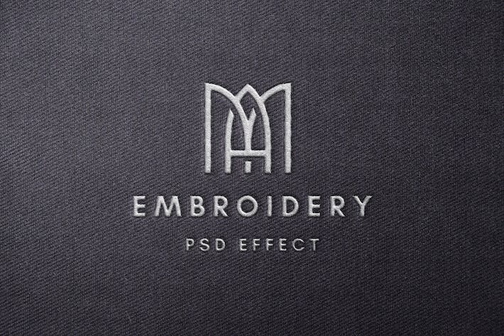 Thumbnail for Stitching Embroidery Mockup
