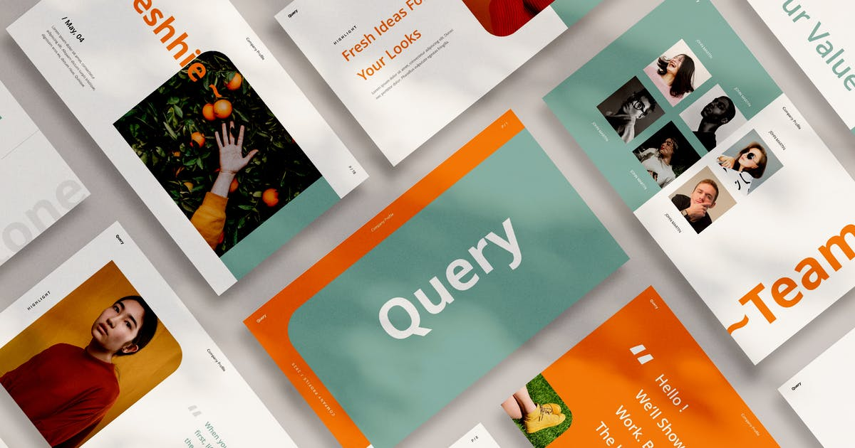 Download Query Keynote by VisualColony