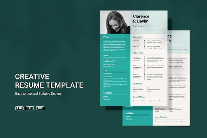 Thumbnail for VDN Resume template v3.1