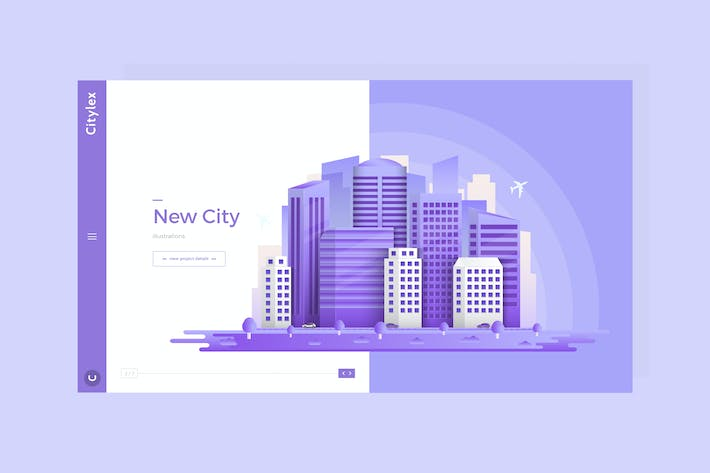 Thumbnail for Citylex - Premium Hero Banner Web Page Template