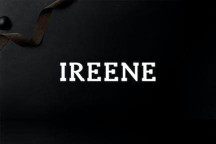 Ireene Serif 3 Font Family Pack
