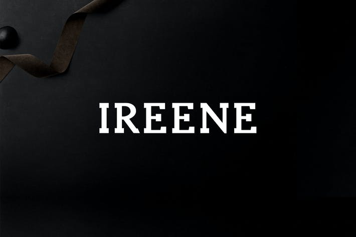 Thumbnail for Ireene Serif 3 Font Family Pack