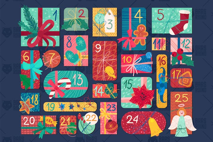 Thumbnail for Advent Calendar Illustration