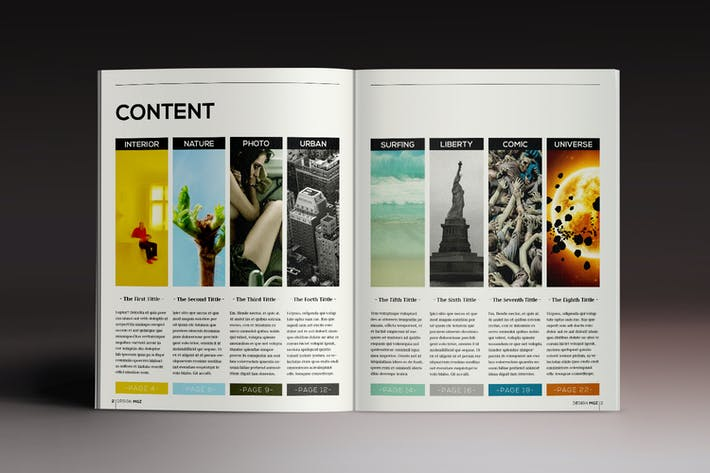 Thumbnail for Des1gn Magazine Indesign Template