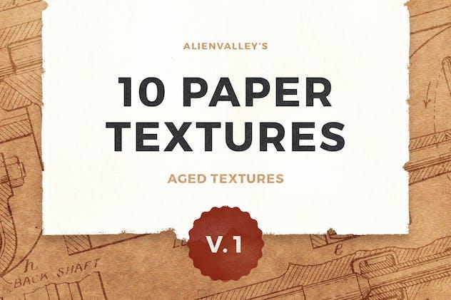 10 Paper Textures Vol. 1