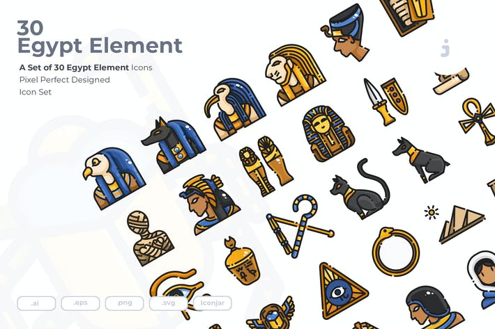 Thumbnail for 30 Ägypten-ElementIcons