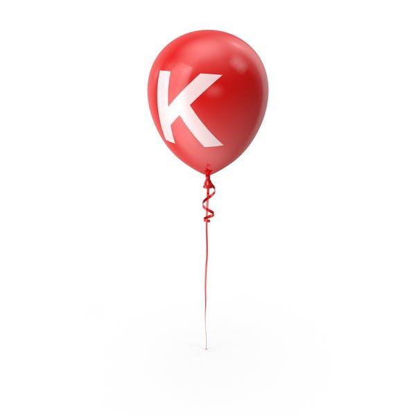 Letter K Balloon