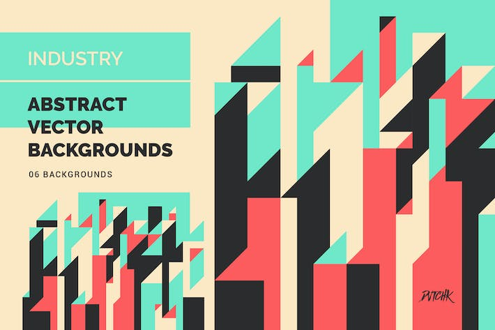 Thumbnail for Industry | Geometric Vector Backgrounds
