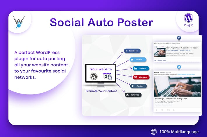 Thumbnail for Social Auto Poster - WordPress Plugin