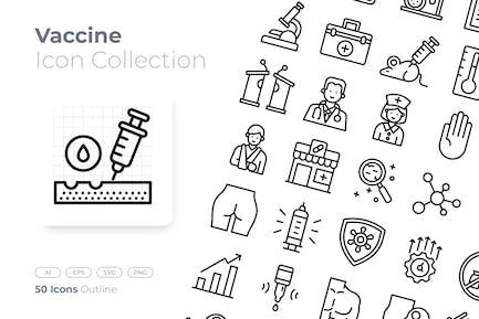 Vaccine Outline Icon