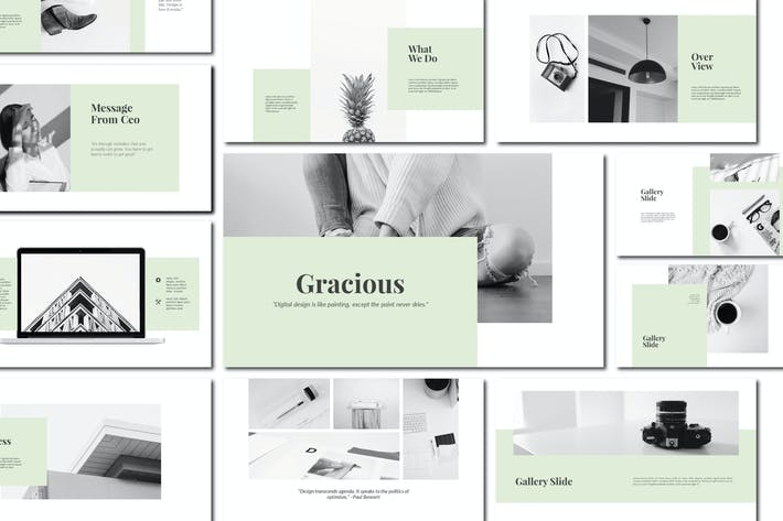 Thumbnail for Gracious - Powerpoint Template