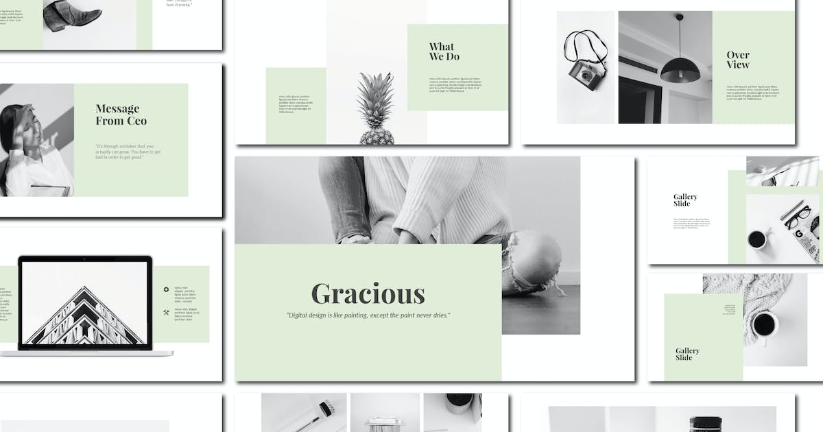Download Gracious - Powerpoint Template by amarlettering