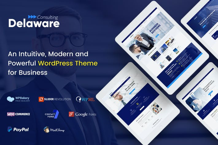 Thumbnail for Delaware - Multi-Purpose Business WordPress Theme