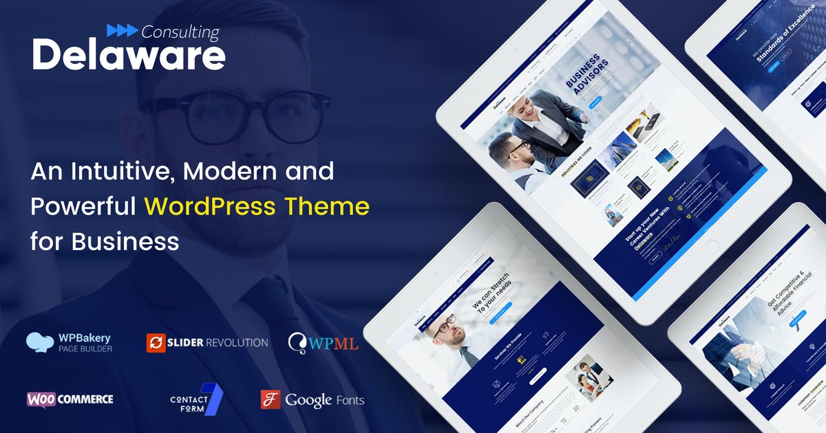 Download Delaware - WordPress Theme for Consulting Business by SteelThemes