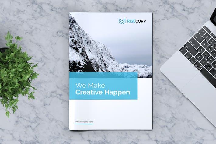 Thumbnail for Kreative Broschüre Vorlage Vol. 12