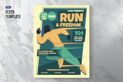 Run Event Flyer Template