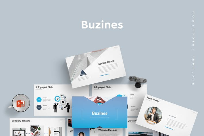 Buzines - Powerpoint Template by aqrstudio on Envato Elements