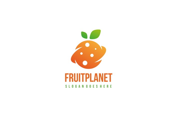 Cover Image For Fruit Planet Logo