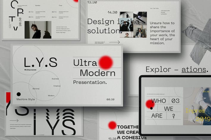 Thumbnail for L.Y.S - Creative Agency Business Powerpoint