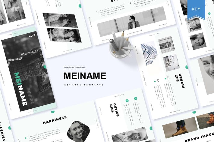 Thumbnail for Meiname |  Keynote Template