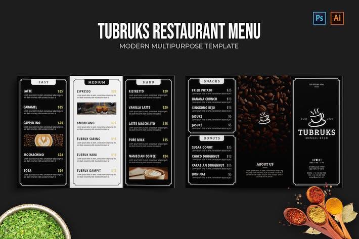 Thumbnail for Tubruks - Restaurant Menu