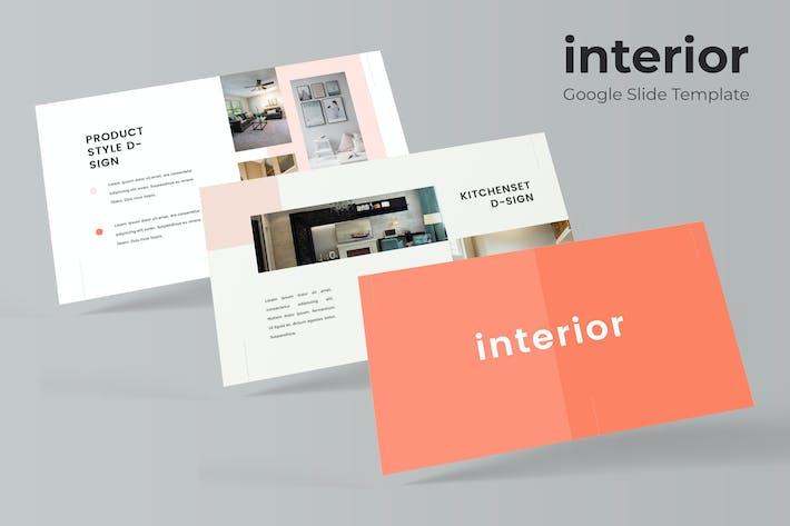 Thumbnail for Interior - Google Slide Template