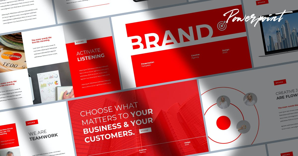 Download Brand - Digital Marketing Keynote by Slidehack