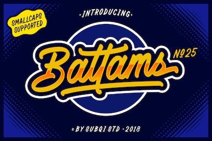 AMR Battams No 25 Pro