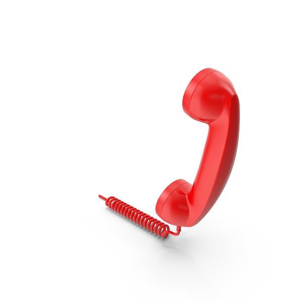 Rotes Telefonhörer