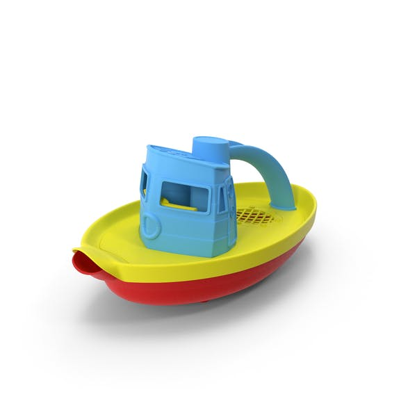 Thumbnail for Tugboat Bath Toy