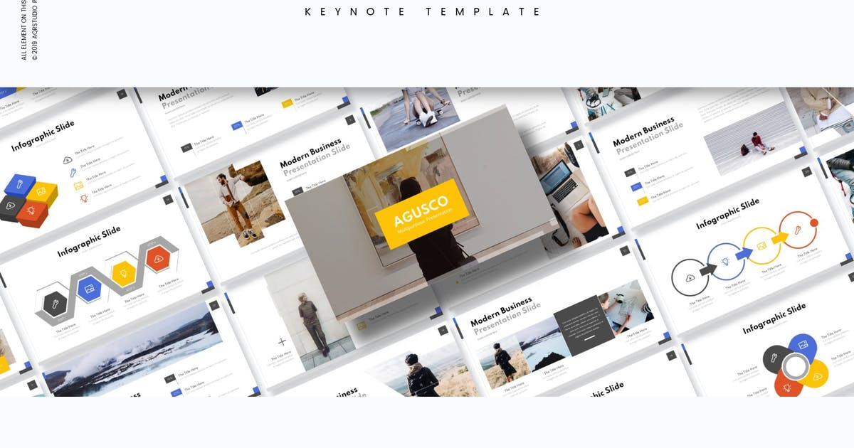 Download Agusco - Keynote Template by aqrstudio