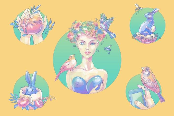 Thumbnail for Easter Art
