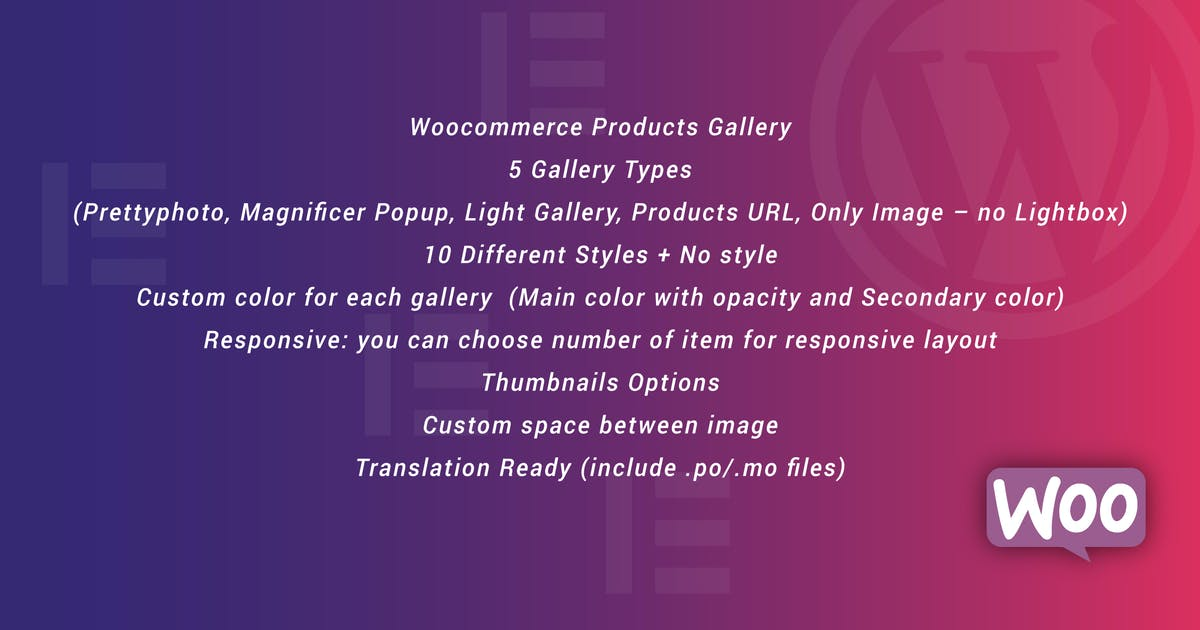 Download WooCommerce Products Gallery for Elementor by ad-theme