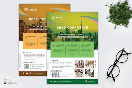 Burnavo - Creative Corporate Flyer HR
