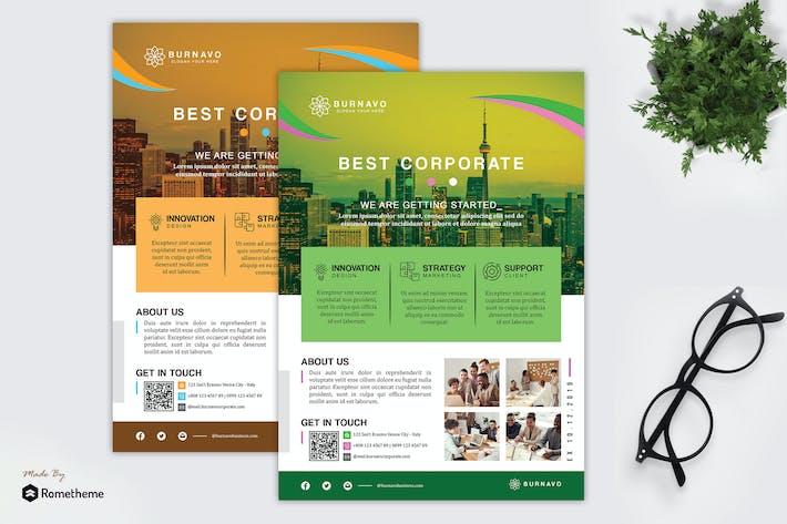 Thumbnail for Burnavo - Creative Corporate Flyer HR