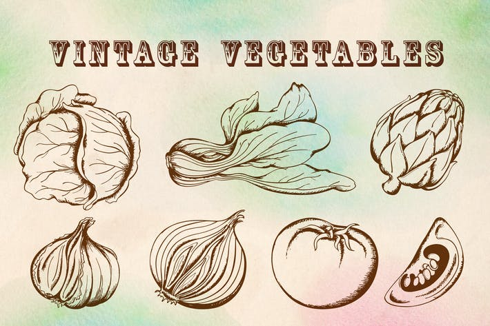 Thumbnail for Vintage Vegetables