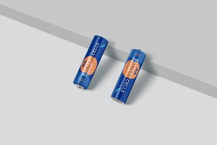 AA Battery Cell Mockups