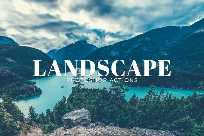 Thumbnail for Landscape Photoshop Actions