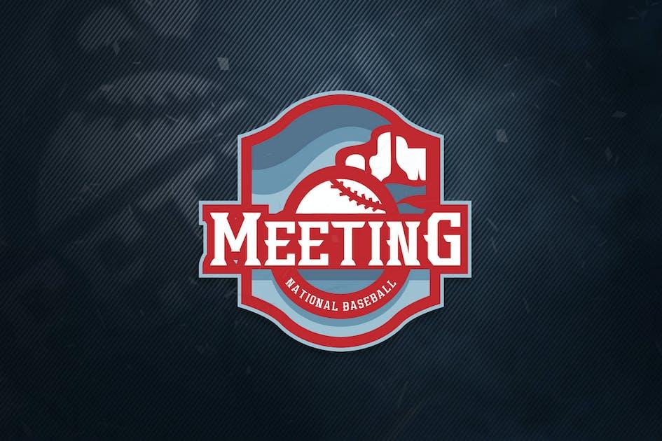 Download Meeting National Baseball Sports Logo by ovozdigital