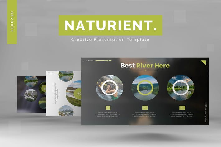 Thumbnail for Naturient - Keynote Template