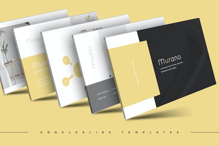 Thumbnail for Murano - Plantilla de Presentación de Google