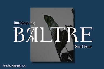 Baltre | Fuente Con serifa moderna