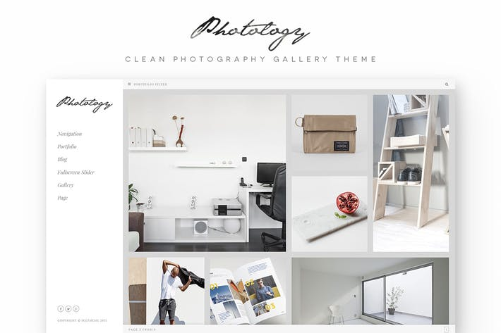 Thumbnail for Photology - Clean Photography Gallery WP Theme