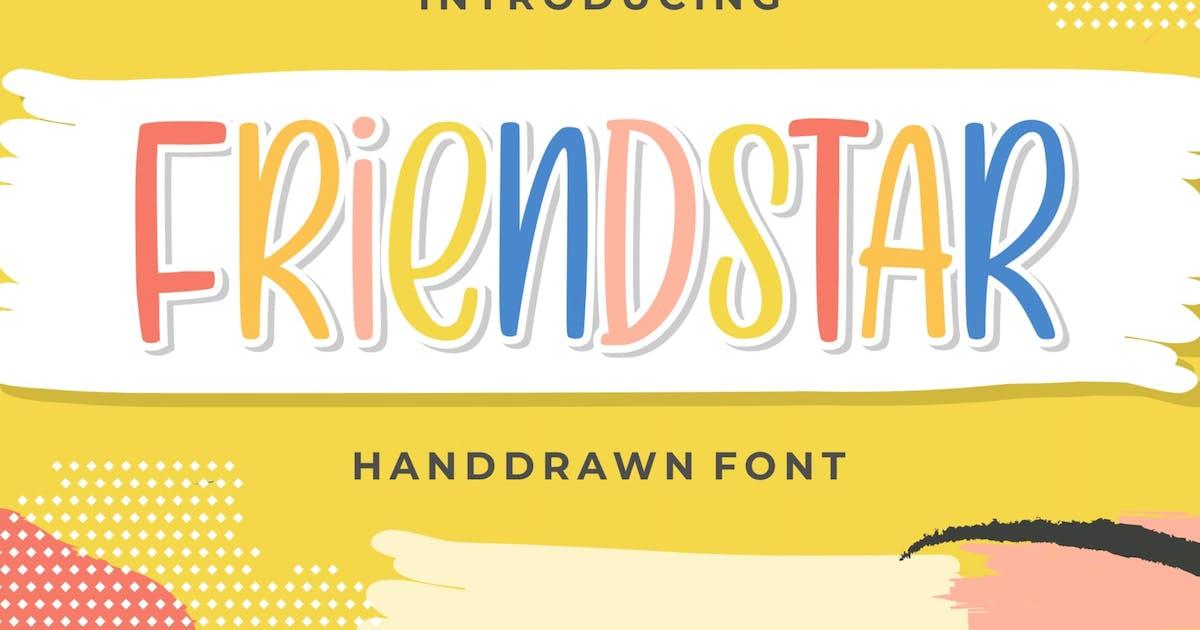 Download Friendstar - Handdrawn Font by garisman