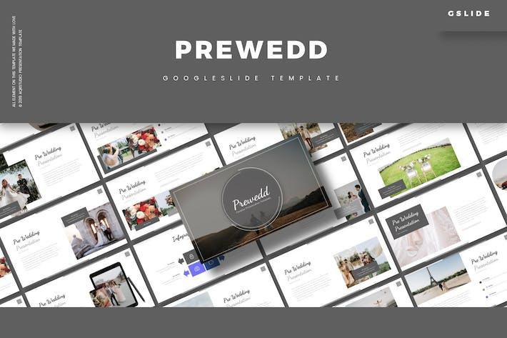 Cover Image For Prewedd - Google Slide Template