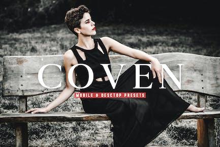 Coven Mobile & Desktop Lightroom Presets