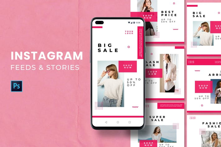 Instagram Feed and Stories
