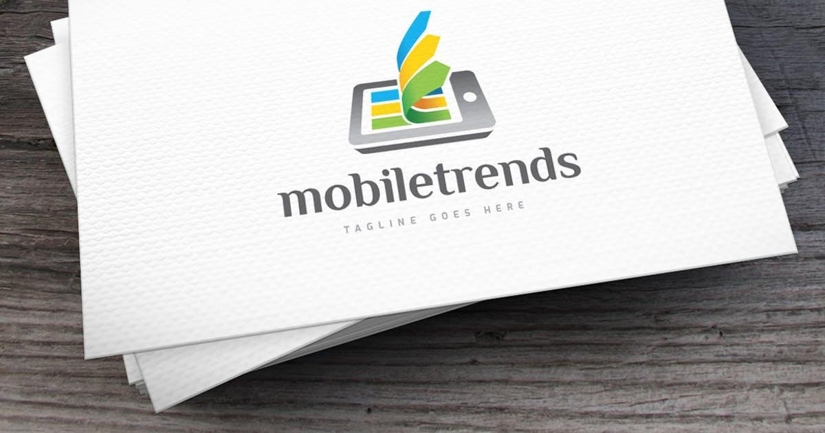 Download Mobile Trends Logo Template by empativo